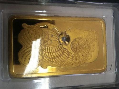 Fake Gold Found in Manhattan